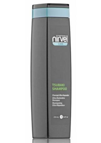 Nirvel Professional Шампунь для Сухих и Поврежденных Волос TSUBAKI, 250 мл insight увлажняющий шампунь для сухих волос 400 мл