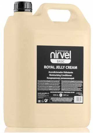 Nirvel Professional Кондиционер Royal Jelly Cream для Сухих и Окрашенных Волос, 5000 мл