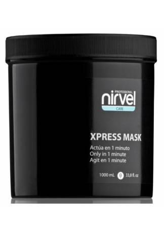 Nirvel Professional Экспресс-Маска для Поврежденных Волос X-Press Mask, 1000 мл laggie clay moist маска интенсивная для сильно поврежденных волос clay moist маска интенсивная для сильно поврежденных волос