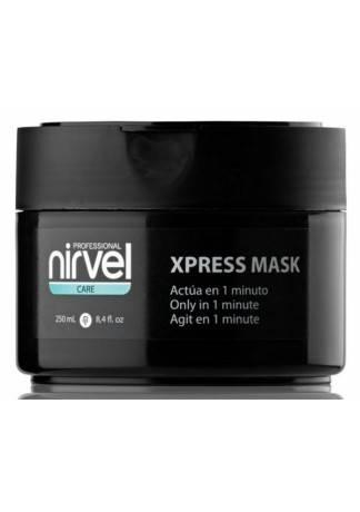 Nirvel Professional Экспресс-Маска для Поврежденных Волос X-Press Mask, 250 мл laggie clay moist маска интенсивная для сильно поврежденных волос clay moist маска интенсивная для сильно поврежденных волос