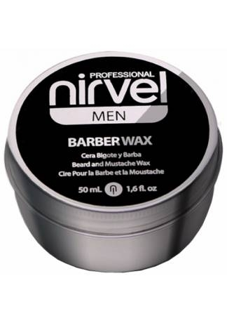 Nirvel Professional Воск для Укладки Бороды и Усов BARBER WAX, 50 мл