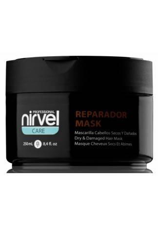 Nirvel Professional Маска Repair Mask для Сухих и Поврежденных Волос, 250 мл shot маска для сухих и поврежденных с персиком 1000 мл