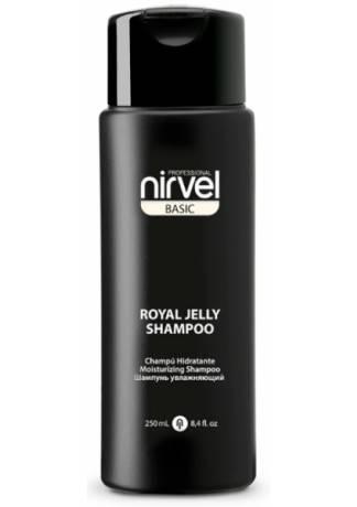 Nirvel Professional Шампунь Royal Jelly Shampoo для Сухих и Окрашенных Волос, 250 мл