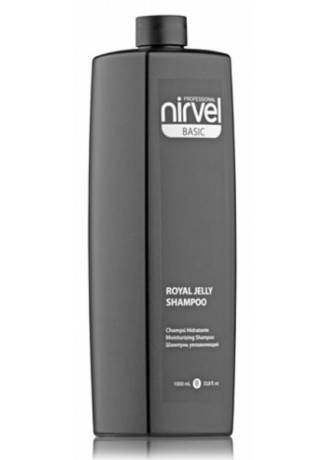 Nirvel Professional Шампунь Royal Jelly Shampoo для Сухих и Окрашенных Волос, 1000 мл