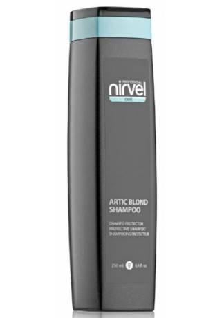 Nirvel Professional Шампунь Artic Blond Shampoo для Холодных Оттенков Блонд, 250 мл