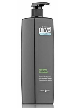 Nirvel Professional Шампунь для Сухих и Поврежденных Волос TSUBAKI, 1000 мл scovo discovery