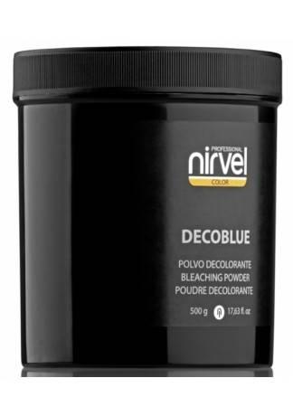 Nirvel Professional Блондирующая Пудра (Синяя) DECOBLUE, 500г