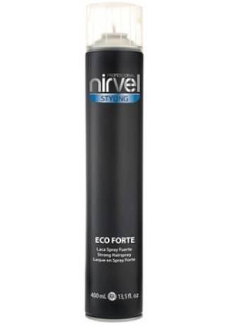 Nirvel Professional Жидкий Лак для Волос Сильной Фиксации ECO FORTE, 400 мл