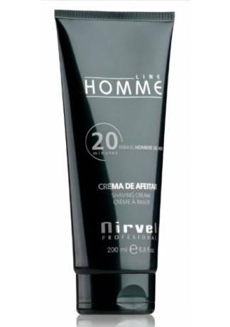 Nirvel Professional Крем для Бритья Освежающий SHAVING CDEAM, 200 мл nirvel professional гель после бритья barber 150 мл