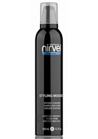 Nirvel Professional Мусс для Укладки Вьющихся Волос MOUSSE CURLY HAIR, 300 мл light blonde clip in curly hair extension 3pcs