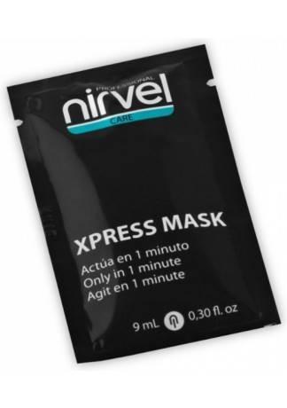 Nirvel Professional Экспресс-Маска для Поврежденных Волос X-Press Mask, 9 мл laggie clay moist маска интенсивная для сильно поврежденных волос clay moist маска интенсивная для сильно поврежденных волос