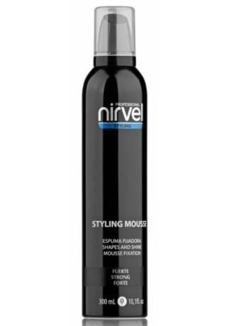 Nirvel Professional Мусс для Укладки Волос Сильной Фиксации MOUSE STRONG, 300 мл