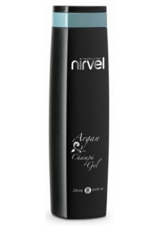 Nirvel Professional Шампунь-Гель ARGAN SHAMPOO GEL, 250 мл nirvel professional гель для укладки волос wet capillar gel 200 мл