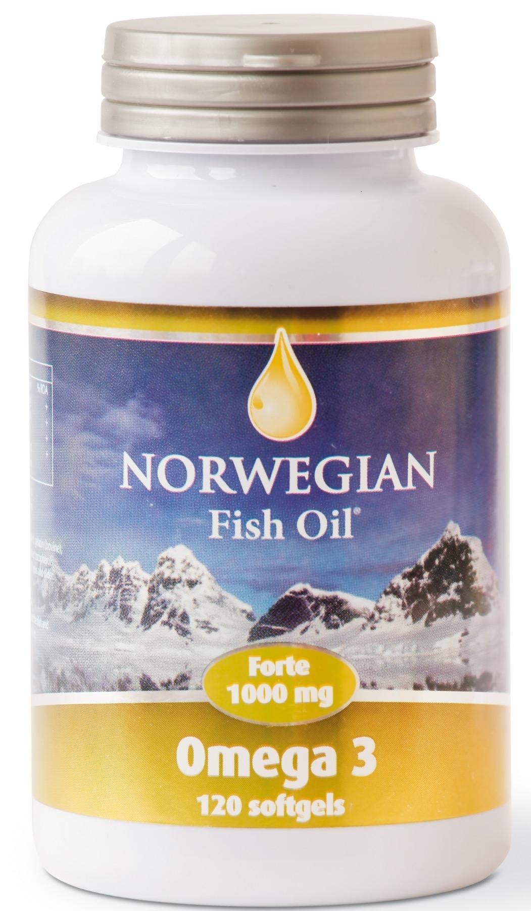 Norwegian Омега 3 Фороте NFO Omеga Forte, 120 капсул