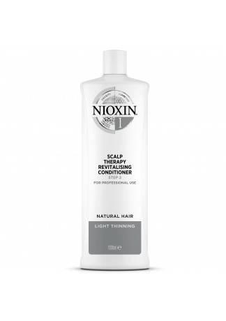 NIOXIN Scalp Revitaliser System 1 - Увлажняющий Кондиционер (Система 1), 1000 мл nioxin scalp revitaliser system 1 увлажняющий кондиционер система 1 300 мл