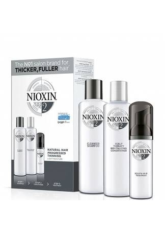 NIOXIN System 2 Kit - Набор (Система 2), 150/150/40 мл coolhair collagen system набор