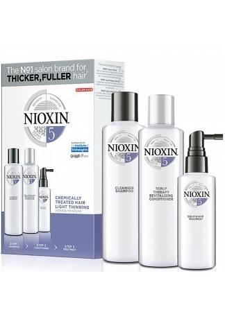 NIOXIN Набор System 5 Kit XXL Система 5, 300/300/100 мл