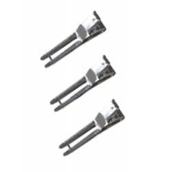 OLLIN PROFESSIONAL Зажимы металлические 46 мм,  100 шт