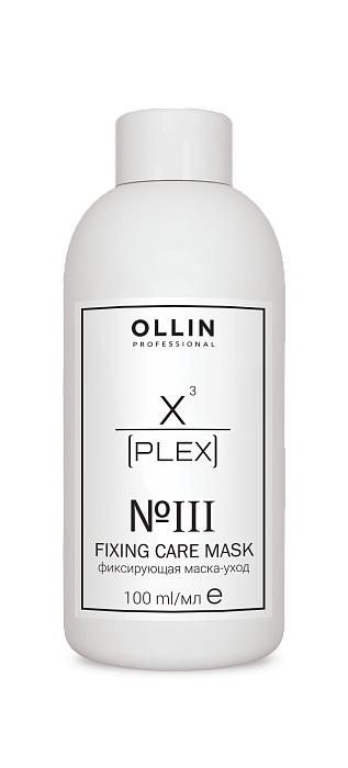 OLLIN PROFESSIONAL №3 Fixing Care Mask Фиксирующая маска-уход, 100мл цена и фото