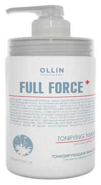 OLLIN PROFESSIONAL FULL FORCE Тонизирующая Маска с Экстрактом Пурпурного Женьшеня, 650 мл
