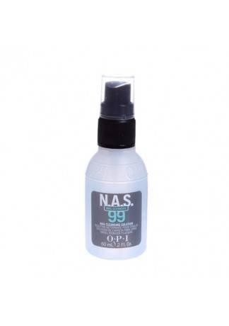 OPI Дезинфицирующая Жидкость для Ногтей Nas-99, 55 мл opi дезинфицирующая жидкость для ногтей nas 99 110 мл