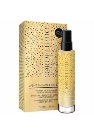 OROFLUIDO Ультра-Легкое Сухое Масло Light Shimmering Elixir, 55 мл сухое масло 60 мл