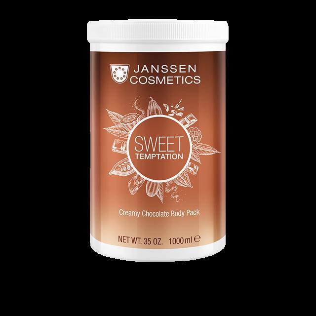 Janssen Корректирующее Кремовое Обертывание Шоколад, 1000 мл sanata крио обертывание антицеллюлитное шоколад 500 мл
