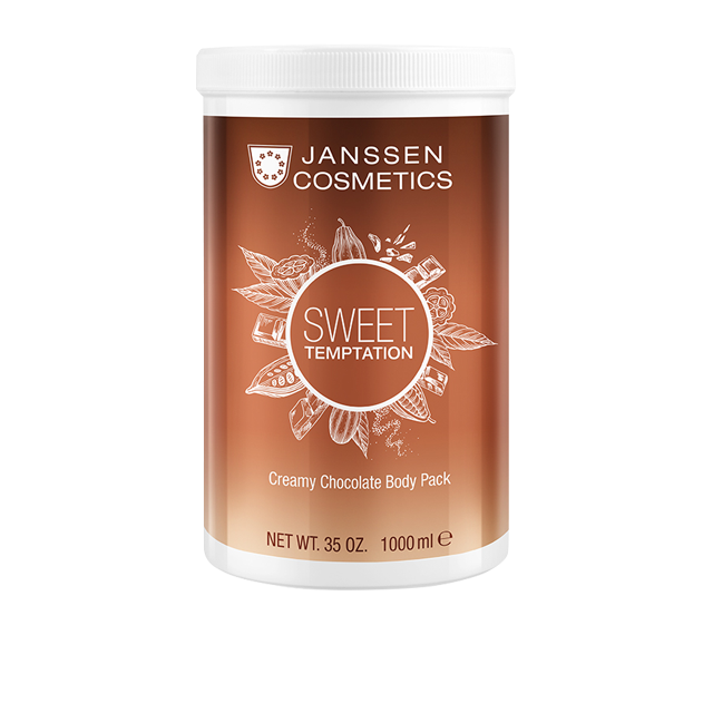 Janssen Обертывание Creamy Chocolate Body Pack Корректирующее Кремовое Шоколад, 1000 мл корректирующее боди lisca