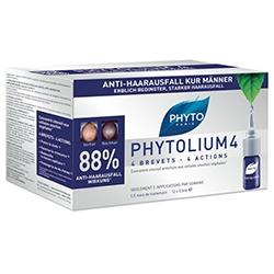 Phyto Сыворотка Против Выпадения Волос Фитолеум 4, 12х3,5 мл витамины для волос phyto phytophanere
