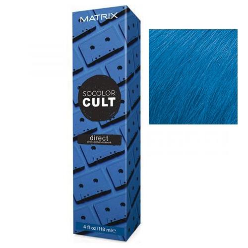 MATRIX Крем с Пигментами Прямого Действия Ретро Синий Socolor Cult, 118 мл недорого