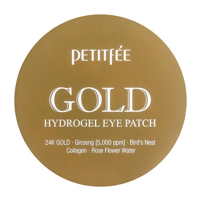 Petitfee Патчи Gold Hydrogel Eye Patch Гидрогелевые для Области вокруг Глаз с Золотом, 60 шт