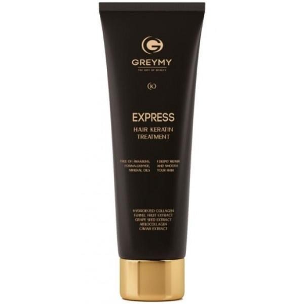 Greymy Крем Platinum Express Hair Keratin Treatment  Кератиновый для Разглаживания, 100 мл