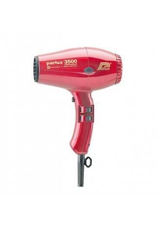 PARLUX Фен 3500  COMPACT CERAMIC @ IONIC 2000 W Красный