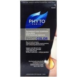 Phyto Краска для Волос Черный 1  Фитоколор бразильское настроение