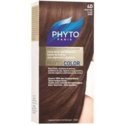 Phyto Краска для Волос Светло Золотистый Шатен 4d Сдвойка Фитоколор краска фитоколор
