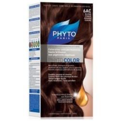 Phyto Краска для Волос Темный Блонд Медь-Красное Дерево 6АС Сдвойка Фитоколор цена 2017