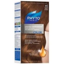 Phyto Краска для Волос Темный Медный Блонд  6С Сдвойка Фитоколор цена 2017