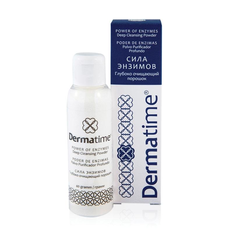 Dermatime Порошок Глубоко Очищающий Сила Энзимов, 40г цена