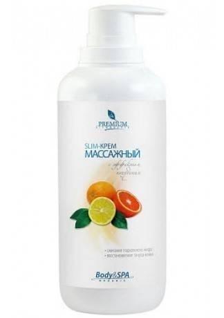 PREMIUM Slim-Крем Slim Silhouette Массажный с Эффектом Похудения, 400 мл