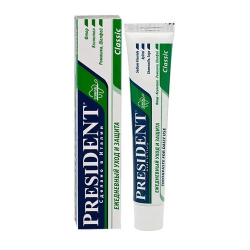 President Паста Зубная Классик, 100 мл цены онлайн