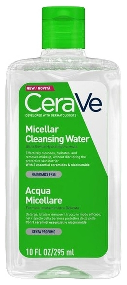 CeraVe Мицеллярная Вода Очищающая, 295 мл