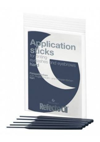 Refectocil Апликаторы для Нанесения Краски, Синие, Твердые, 10 шт refectocil апликаторы для нанесения краски белые мягкие уп 10 шт