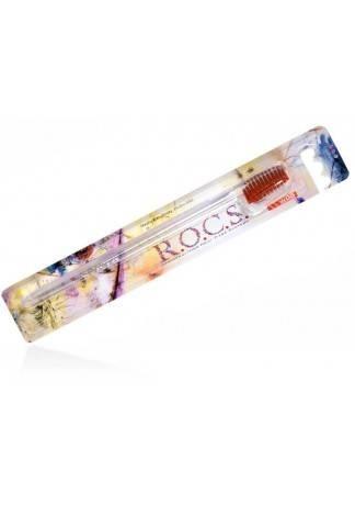 R.O.C.S. Зубная Щетка Рокс Классическая  Средняя r o c s зубная щетка рокс классическая мягкая