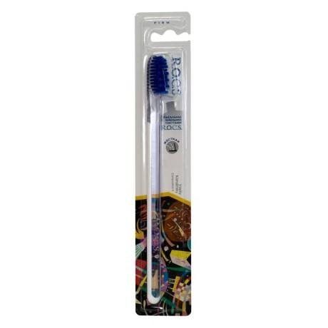 R.O.C.S. Зубная Щетка  Рокс Модельная Мягкая щетка зубная blackwood medium