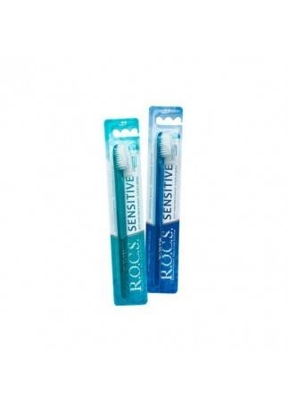 R.O.C.S. Зубная Щетка Рокс Sensitive Мягкая dc 2080 зубная щетка для чувствительных зубов мягкая жесткость