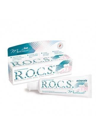R.O.C.S. Гель Реминерализирующий R.O.C.S. Medical ФРУТ, 45 гр рокс гель реминерализующий цена