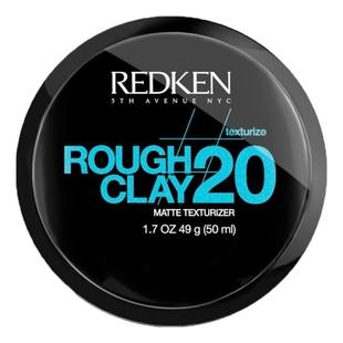 REDKEN Глина Rough Clay 20 Пластичная Текстурирующая с Матовым Эффектом Раф Клэй 20, 50 мл