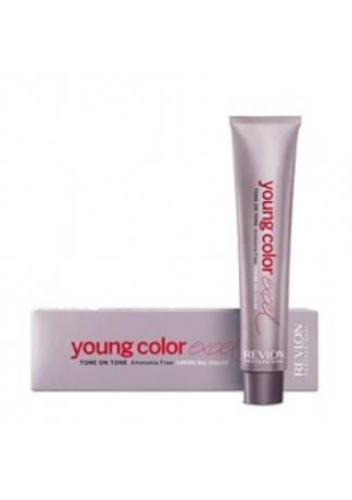 REVLON Краска Young Color Excel, 70 мл revlon безаммиачная краска для волос тон в тон yce young color excel 70 мл 51 оттенок 5 56 красный махагон