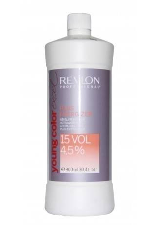 REVLON Биоактиватор Плюс 4,5% Young Color Excel, 900 мл revlon безаммиачная краска для волос тон в тон yce young color excel 70 мл 51 оттенок 4 65 темно красный