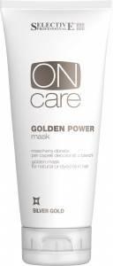 Selective Professional Золотистая маска для натуральных или окрашенных волос теплых светлых тонов, 200 мл